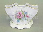 """Подставка для салфеток 8.5 см """"Розовые цветы Соната"""""""