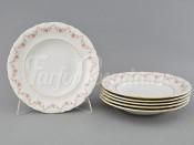 "Набор тарелок глубоких 6 шт 23 см ""Мелкий цветок Соната"""