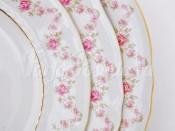 """Набор тарелок десертных 6 шт 19 см """"Мелкий цветок Соната"""""""