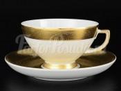 """Набор чайных пар  """"Gold band 9342"""""""
