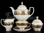 """Чайный сервиз на 6 персон 15 предметов """"Imperial Cobalt Gold"""""""