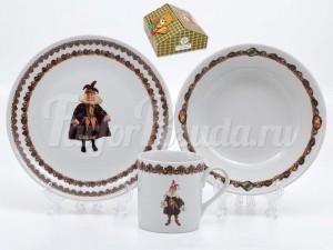 Набор детской посуды 2270 3 предмета