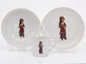 Набор детской посуды 2272 3 предмета