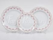 "Набор тарелок 18 предметов ""Мелкий цветок Верона"""