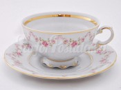 """Набор из двух чайных пар 0.20 л """"Мелкий цветок Соната"""""""