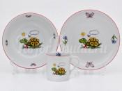 Набор детской посуды 224A 3 предмета