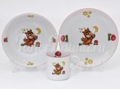Набор детской посуды 224B 3 предмета