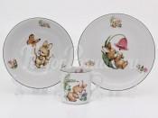 Набор детской посуды 2372 3 предмета