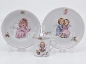 Набор детской посуды 2273 3 предмета