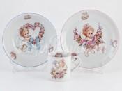 Набор детской посуды 2374 3 предмета