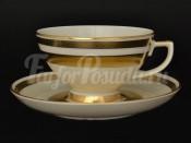 """Набор чайных пар 250 мл   """"Constanz Gold 9321"""""""