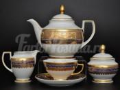 """Сервиз чайный """"Diadem Violet"""" на 6 персон 15 предметов"""