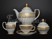"""Сервиз чайный """"St. Petersburg Gold"""" на 6 персон 27 предметов"""