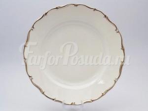 """Блюдо круглое """"Платиновая полоса"""" 30 см АГ902"""