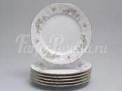 "Набор тарелок 17 см ""Бернадотт дикая роза золото"""