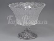 "ваза для конфет 20,5 см ""Glasspo"" хрусталь"