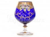 "Набор стаканов ""Лепка синяя"" 400мл."