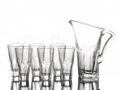 "Набор ""Аполло прозрачный"" кувшин 1.7 л и 6 стаканов 480 мл"