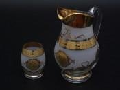 """Набор для воды """"Медуза фон Соудек""""(кувшин1,5л+6стаканов 250мл.)"""