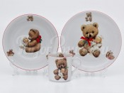 Набор детской посуды 2375 3 предмета