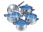 Набор кастрюль со сковородой 5 пр.: кастрюля 2,0 л., кастрюля 3,7 л.