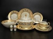 """Столовый сервиз на 6 персон 26 предметов """"Cream Imperial Gold"""""""