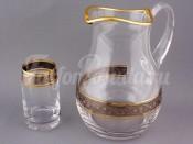 """Набор для воды """"Клаудия""""(кувшин2л.+6стаканов 250мл.)"""