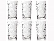 """Набор стаканов для воды """"Лаурус"""" 240 мл 6 шт"""