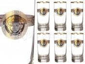 """Набор стаканов для воды из 6 шт.""""Медуза"""" 350 мл"""