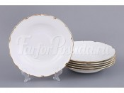 "Набор суповых тарелок из 6 шт.""Симона"" диаметр 24 см."