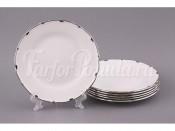 """Набор тарелок из 6 шт.""""Симона"""" диаметр 17 см."""