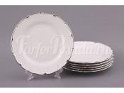 """Набор тарелок из 6 шт.""""Симона"""" диаметр 25 см."""