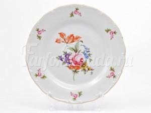 """Набор тарелок 25 см 6 шт. """"Полевой цветок ОФ512"""""""