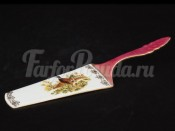 Лопатка для торта 24 см Красная охота Margui