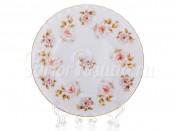 """Набор тарелок """"Цветы Рельеф золото"""" 17см.6шт."""