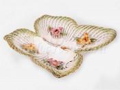 """Ваза для конфет """"Цветы"""" в форме бабочки"""
