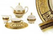 """Чайный сервиз """"Диадема"""" на 6 персон 21 предмет"""