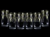 "Набор: 6 хрустальных стаканов для воды  ""Валлетта"""