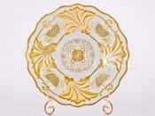 """Тарелка """"Симфония золотая 427 Ютта"""" 25 см"""