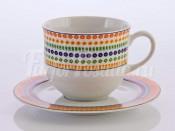 """Набор для чая """"Тулип 657800""""(чашка160мл.+блюдце) на 6перс.12пред. выс. н/н"""