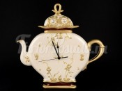 "Часы ""Via Veneto"" в форме чайника"