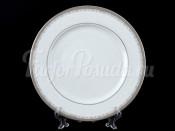 """Набор тарелок """"Платиновая лента"""" Опал 25 см 6 шт"""