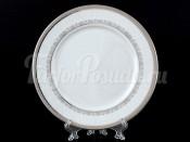 """Набор тарелок """"Платиновая лента"""" Опал 19 см 6 шт"""