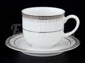 """Набор для кофе мокка """"Платиновая лента"""" Опал 110 мл"""
