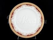 "Набор тарелок ""Красная лилия"" Кристина 25 см 6 шт"