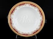 "Набор тарелок ""Красная лилия"" Кристина 22 см 6 шт"