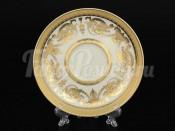 "Блюдца 155 ""Cream porcelain Imperial Gold"" Falkenporzellan"