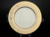 "Блюдо круглое 32 см ""Cream porcelain Imperial Gold"" Falkenporzellan"