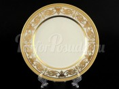 "Набор тарелок 20 см 6 шт ""Cream porcelain Imperial Gold"" Falkenporzellan"
