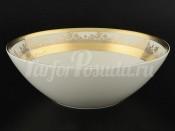 "Салатница 24 см ""Cream Pure Elegance Gold 9320"" Falkenporzellan"